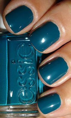 Essie - Go Overboard  This polish is on my list, for toes