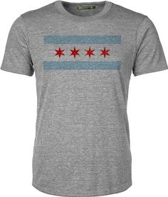 Unisex Chicago Flag Tee by ChicagoFlagHats on Etsy