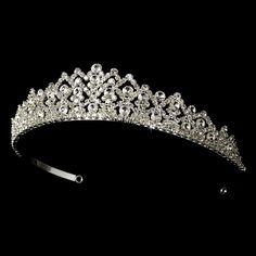 Rhinestone Bridal Tiara HP 6032