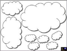 Cloud template for oh the places you will go classroom door.
