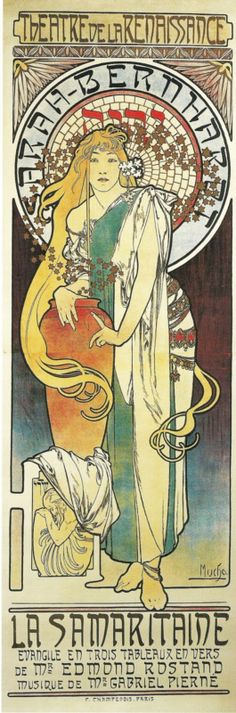 Alphonse Mucha & Sarah Bernhardt