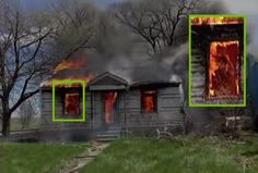 Firefighter captures ghost on camera before battling house fire in Indiana. Paranormal News, ghost in a burning house.
