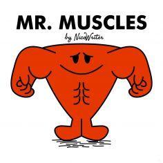 Mr Muscles Muscle Men Little Miss Humour Husband