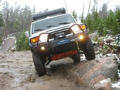 My favorite FJ Cruiser Front Bumper. Gives the FJ a mean look.