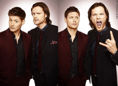 Jensen Ackles & Jared Padalecki at the People's Choice Awards