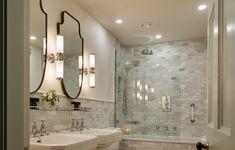 Newly refurbished bathroom in the Original Building Connemara, Luxury Accommodation, Classic Elegance, Bedrooms, Contemporary, The Originals, Mirror, Bathroom, Building