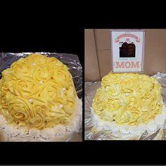 #rosecake #yellowrosecakes #mothersdaycake #mothersday #birthdaycakes #cakes