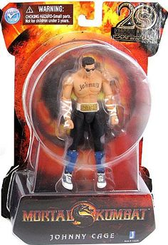 Mortal Kombat 9 Johnny Cage Action Figure!