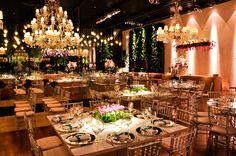SITE: INESQUECÍVEL CASAMENTO - Decoração luxuosa para casamento