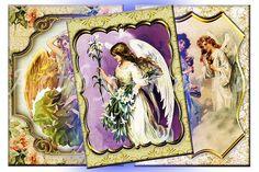 Postcards of vintage Angels