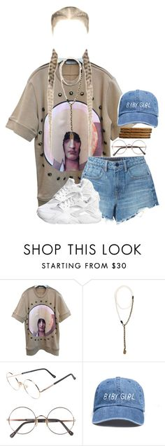chillin' attire by indigodistraction143 on Polyvore featuring moda, Givenchy, Alexander Wang, Lanvin, Sunday Somewhere and NIKE
