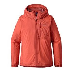The Patagonia Women's Storm Racer Jacket is the lightest  waterproof/breathable jacket we've ever made.