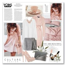 """""""Yoins48"""" by sneky ❤ liked on Polyvore featuring Rochas, Giuseppe Zanotti, Elizabeth Arden, women's clothing, women, female, woman, misses, juniors and yoins"""