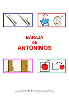 Registro y valoración cualitativa - Antónimos - Portada http://informaticaparaeducacionespecial.blogspot.com.es/2014/09/registro-y-material-complementario-para.html