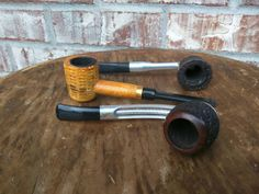 Three great pipes--Alco, Falcon, Corncob