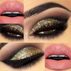 "✨New Years Look✨ Brows-@anastasiabeverlyhills  dipbrow ""Dark Brown"" Eyes-@anastasiabeverlyhills Crease ""Pose"" Outer Crease ""Beauty Mark"" Bottom Lashline ""Beauty Mark"" Liner Covet Liner ""Noir"" Lashes-@flutterlashesinc ""Lori"" Bottom ""Brittany"" Eyes-@N"