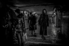 Shopping in the Underground – AANESTAD IN BLACK & WHITE