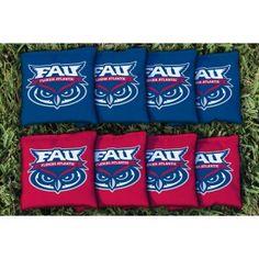 FAU Florida Atlantic Replacement Cornhole Bag Set (Corn Filled) from TailgateGiant.com