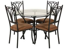 Have to have it Southern Enterprise Lucianna 5 Piece Dining Set