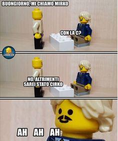Lego Humor, Lego Memes, Funny Images, Funny Photos, Legoland, Funny Stories, Vignettes, Troll, Minions