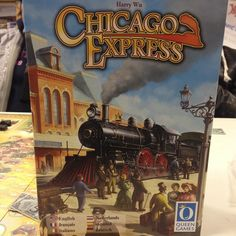 First game up at Wizards after a long break is Chicago Express #HappyPlace #GamesEvening #ChicagoExpress #Wizards