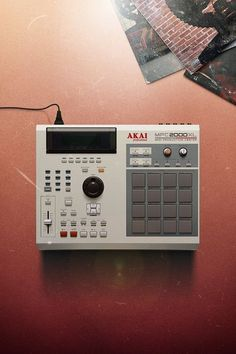 This historical timeline of the Akai MPC explores the rich history of this legendary piece of music production equipment. Studio Gear, Studio Setup, Music Production Equipment, Hip Hop Instrumental, Home Studio Music, Drum Machine, Music Machine, Audio Equipment, Recording Equipment