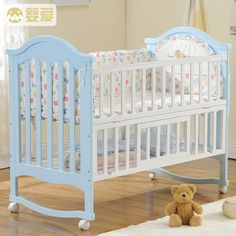 Click to Buy u003cu003c Baby baby crib wood multi-function baby cradle. u003eu003e & Click to Buy u003cu003c baby crib mosquito net mesh crib tent folding net ...