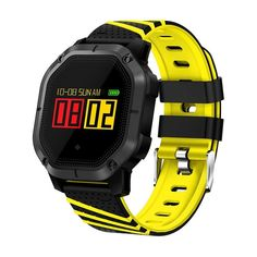 Beseneur Smart Band Color Screen Heart Rate Monitor Blood Pressure Waterproof Fitness Tracker Bracelet for IOS Android Sport Watches, Watches For Men, Gps Watches, Golf 7 R, Fitness Tracker Bracelet, Waterproof Fitness Tracker, Latest Watches, Swiss Army Watches, Smart Bracelet