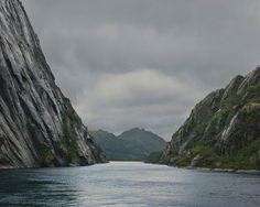 Trollfjord Vista Suffering In Silence, Arctic Circle, Lofoten, Fishing Villages, Archipelago, Beautiful Islands, Norway, Coast, Clouds