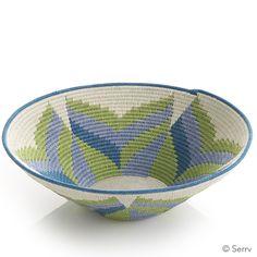 Protea Flower Basket | Each of Tintsaba's decorative baskets takes 30-50 hours…