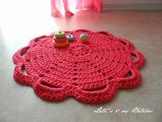 tapis crochet zpagetti