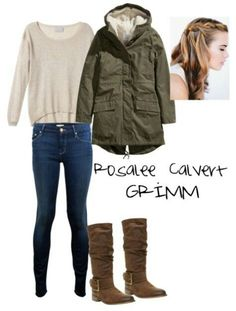 Grimm tvshow character inspired by Rosalee Grimm Season 5, Rosalee Calvert, Fandom Outfits, Autumn Fashion, Cute Outfits, Winter Jackets, Style Inspiration, Fashion Outfits, My Style