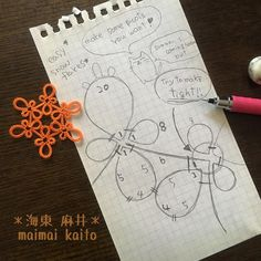 I hope it can be a help for your stuff @listicath for the Christmas But enjoy your bright summer and beautiful autumn before the December! lol #maimaikaito #tattinglace #tatting #originaldesign #タティングレース #オリジナルデザイン
