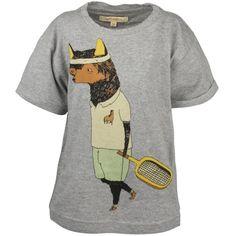 Norman Tennisboy Grey Melange