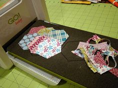 Cutting circles and rings with the @AccuQuilt STUDIO 2 Fabric ... : quilting fabric cutter - Adamdwight.com