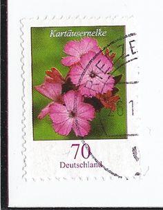 German flower stamp identification - Stamp Community Forum