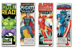 Avengers Bookmark - Bestsellers - Bookmarks - New Products - Products for Children - Products for Young Adults - ALA Store