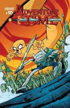 Adventure Time #50 Variant - Jorge Corona
