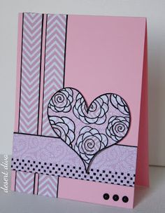 Freshly Made Sketches #21 - A paper pieced ♥