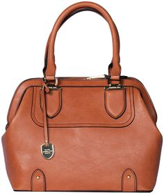 2040d85cbc London Fog Cognac Kensington Frame Satchel   Zulily  zulily  london  fog  Satchel