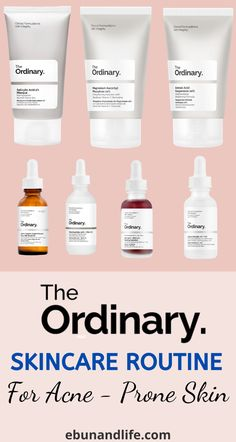 Are you struggling with breakouts, blackheads or hyperpigmentation? You should definently try the super cheap The Ordinary Skincare Routine for Acne. It is so effective! #theordinaryskincare #acne #acnescarstreatment #acneremedies #skincaretipsforacne #skincareforacneproneskin #skincareforteens #skincareproductsthatwork