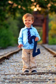 Great idea! Easy to do with all your kids no matter where you are stationed. = two year old birthday photo session ideas - Google Search