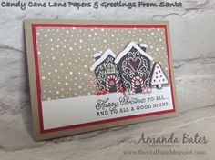 The Craft Spa - Stampin' Up! UK independent demonstrator : Candy Cane Lane Trio