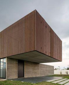 [ XAN House | MAPA Architects | Porto Alegre, Brazil | via: contemporist.com ] #architecture #brazil #cantilever #wood #concrete #brasil #contemporary #volume