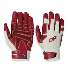 Air Brake Gloves™ are full-finger belay gloves with a stretchy, breathable poly-spandex and durable split-suede overlays and Kevlar stitching.