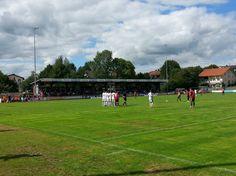 SMR Arena in Buchbach bei der Partie TSV Buchbach vs FC Ingolstadt Amateure am 06.09.2015