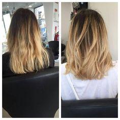 @makelolaup vai e ARRASA!! Corte + Cor + Olaplex   #olaplexportugal #olaplex #ombre #sunkissed #totallygorgeous #lola #haircut #haircolour #gold #beach #waves #slashlisbon #slash #lisbon #hair #salon