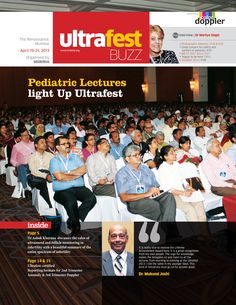 The cover page of the event special, customer connect magazine ULTRAFEST. Designed for Ultrafest event.