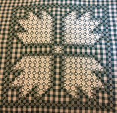 My Bear Claw Square.  But I also see a great cross. Hmmmm. Maybe the next design.
