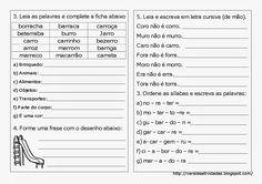 Plano de Aula e atividades de Ortografia - R ou rr - Mundinho da Criança - Atividades para Educação Infantil
